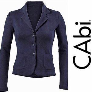 CAbi Navy Blue Breakthrough Hacket/Cardigan Sz: L